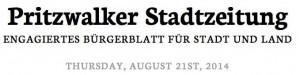 Pritzwalker-Stadtzeitung