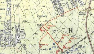 Lageplan Windraeder