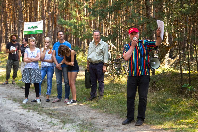 Begrüßung durch Dr. Winfried Ludwig, Vorsitzender von Waldkleeblatt