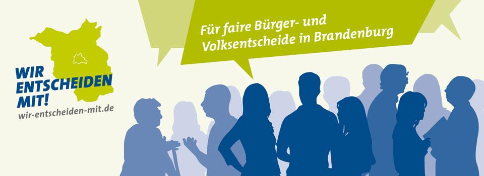 Volksinitiative will direkte Demokratie in Brandenburg verbessern