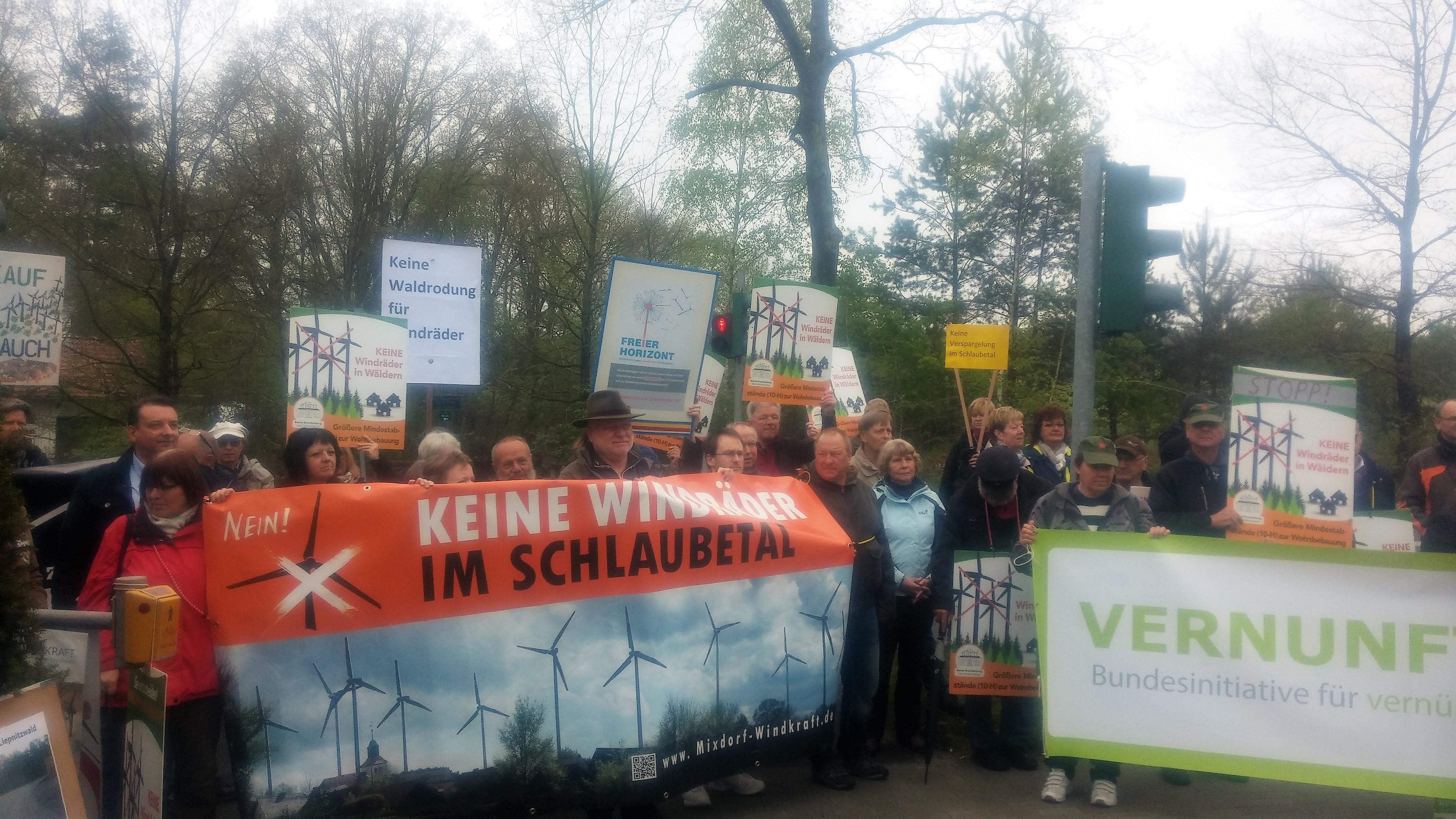 Tolle Demo zur Umweltministerkonferenz