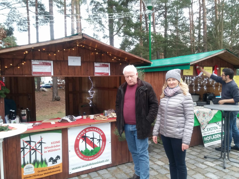 Geheimtipp in der Region – Zapfenmarkt in Fichtenwalde mit dem besten Glühwein der BI wieder ein großer Erfolg